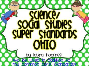 2nd Grade Super Standards- OHIO Science/Social Studies
