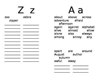 2nd Grade SuperKids Words Dictionary