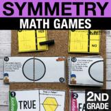 2nd Grade Symmetry Math Centers | Math Games