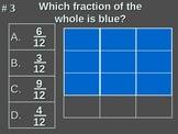 2nd Grade TEKS Math 2.2(A) Fractional Models of a Whole Object.