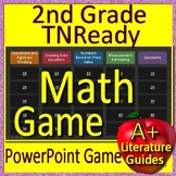 2nd Grade TNReady Math Test Prep Activities  - Jeopardy Style Review Game
