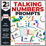 2nd Grade Talking Numbers Tasks: GROWING Bundle for Distan