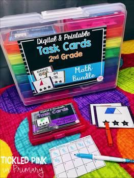2nd Grade Task Cards (printable version)