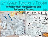 2nd Grade Teacher's Toolkit Printable Math Manipulatives,