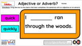 2nd Grade Technology Activities - Lesson 16: Adjectives or Adverbs?