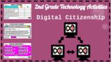 2nd Grade ELA Technology Activities - PowerPoint Slides (Digital Citizenship)