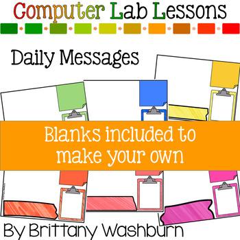 2nd Grade Technology Curriculum Add on Pack