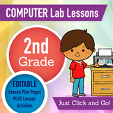 2nd Grade Technology Lesson Plans and Activities 1 Year Subscription