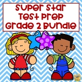2nd Grade Test Prep Bundle Math/ELA - Grade 2 - Common Core/TN TCAP Formats!
