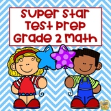 2nd Grade Test Prep - Math Grade 2 - Common Core and TN TCAP Formats!  2 in 1!