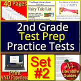 2nd Grade Test Prep Practice - Reading Comprehension Passages and Questions