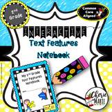 FREE Interactive Notebook: Text Features RI2.5 RI2.7