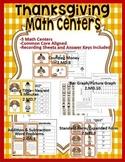 2nd Grade Thanksgiving Math Center Bundle