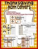 2nd Grade Thanksgiving Math Center Bundle