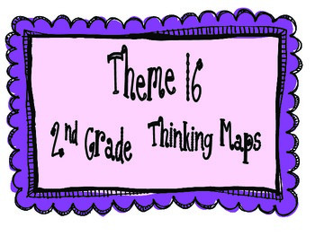 2nd Grade, Theme 16 Literacy By Design Graphic Organizers