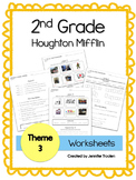 2nd Grade Theme 3 Houghton Mifflin Vocab Worksheets