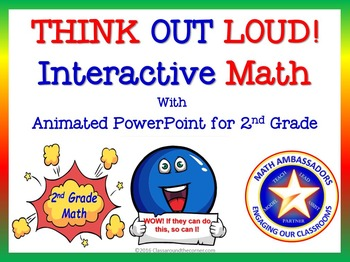 "2nd Grade ""Think Out Loud"" Interactive Math"
