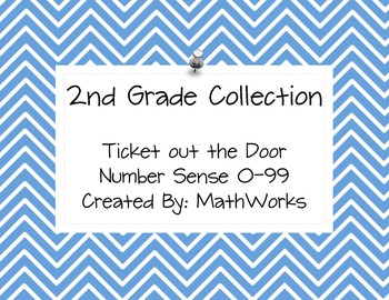 2nd Grade Ticket out the Door Collection