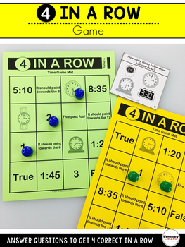 Time Games and Centers 2nd Grade