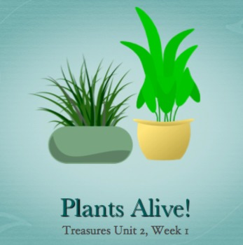 2nd Grade Treasures U2W1  The Tiny Seed Power Points