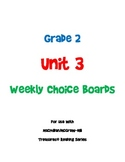 2nd Grade Treasures Unit 3 Choice Board