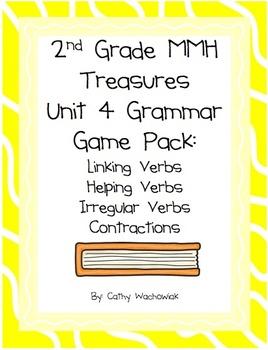 2nd Grade Treasures Unit 4 Grammar Pack