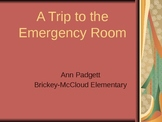 2nd Grade Treasures Vocabulary Powerpoint for A Trip to the Emergency Room