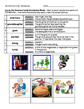 2nd Grade Trophies Vocabulary Practice - Set 2