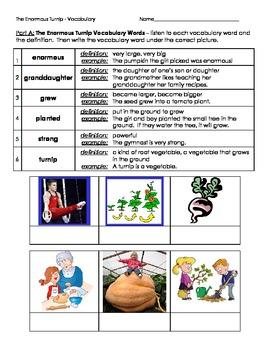 2nd Grade Trophies Vocabulary Practice - Set 2