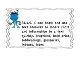 """2nd Grade Unit 1 Common core """"I can.."""" objectives"""
