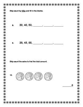 2nd Grade - Unit 1 Everyday Math - Practice Test
