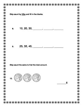 2nd Grade - Unit 1 Everyday Math - Test
