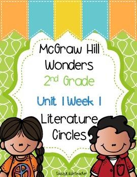 2nd Grade Unit 1 Week 1 Literature Circles
