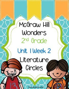 2nd Grade Unit 1 Week 2 Literature Circles