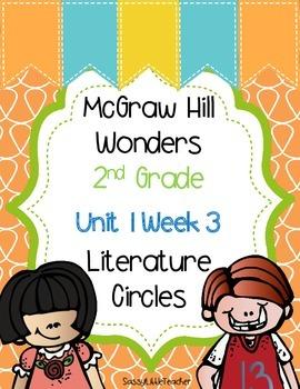 2nd Grade Unit 1 Week 3 Literature Circles