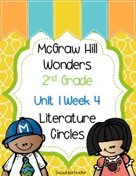 2nd Grade Unit 1 Week 4 Literature Circles
