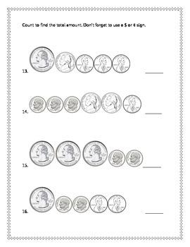 2nd Grade - Unit 10 Everyday Math - Test