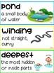 2nd Grade Unit 2 Journeys Vocab Word Wall