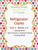 2nd Grade, Unit 2 Reading Street Refrigerator Copy