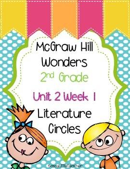 2nd Grade Unit 2 Week 1 Literature Circles
