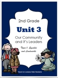 2nd Grade - Unit 3 -Our Community and Its Leaders - Topic 1: Symbols /Landmarks