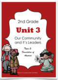 2nd Grade - Unit 3 -Our Community and Its Leaders - Topic 2: America's Start