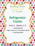 2nd Grade, Unit 3 Reading Street Refrigerator Copy