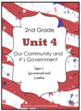 2nd Grade - Unit 4 -Community/Government - Topic 1: Government & Leaders