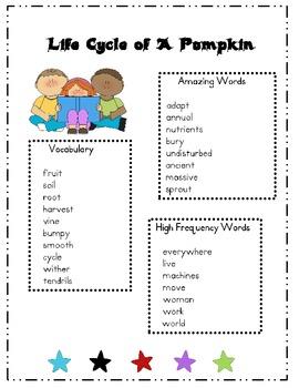 2nd Grade Unit 4 Reading Street Word Lists Freebie