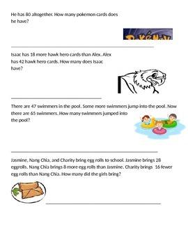2nd Grade -Unit 4 Review