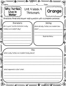 2nd Grade Unit 4 Week 4 Literature Circles