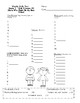 2nd Grade, Unit 5 Journey's Weekly Skills Test Answer Sheets
