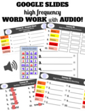 2nd Grade Unit 5 Journeys High Frequency Digital Word Work
