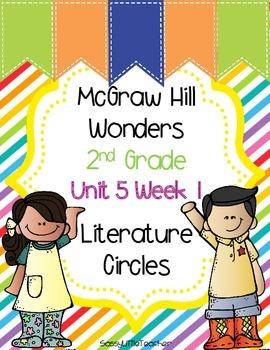 2nd Grade Unit 5 Week 1 Literature Circles